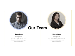 Our Team Introduction Ppt PowerPoint Presentation Summary Grid