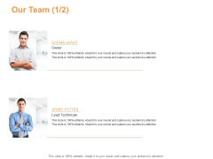 Our Team Introduction Ppt PowerPoint Presentation Visual Aids Inspiration
