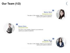 Our Team Management Ppt PowerPoint Presentation Layouts Deck