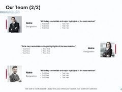 Our Team Member Ppt PowerPoint Presentation File Structure