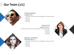 Our Team Member Ppt PowerPoint Presentation Infographics Gridlines