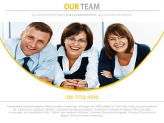 Our Team Of Professional Members Powerpoint Slides