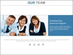 Our Team Of Three Persons Powerpoint Slides