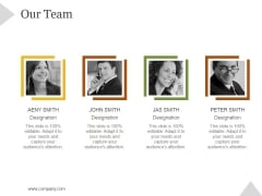 Our Team Ppt PowerPoint Presentation Designs Download