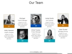 Our Team Ppt PowerPoint Presentation File Ideas