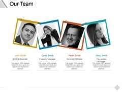 Our Team Ppt PowerPoint Presentation File Introduction
