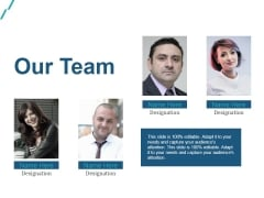 Our Team Ppt PowerPoint Presentation File Samples
