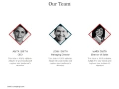Our Team Ppt PowerPoint Presentation Gallery