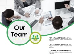 Our Team Ppt PowerPoint Presentation Icon Information