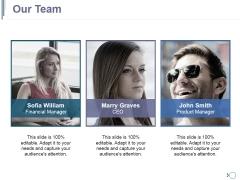 Our Team Ppt PowerPoint Presentation Ideas Deck