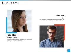 Our Team Ppt PowerPoint Presentation Ideas Microsoft