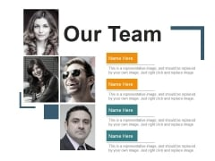 Our Team Ppt PowerPoint Presentation Ideas Picture