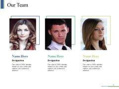 Our Team Ppt PowerPoint Presentation Ideas Sample
