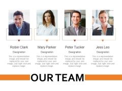 Our Team Ppt PowerPoint Presentation Ideas Show
