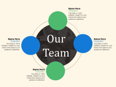 Our Team Ppt PowerPoint Presentation Infographic Template Background Designs