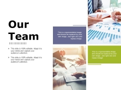 Our Team Ppt PowerPoint Presentation Infographic Template Format Ideas