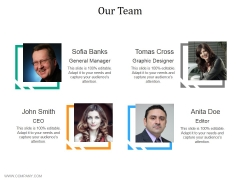 Our Team Ppt PowerPoint Presentation Infographic Template Influencers