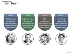 Our Team Ppt PowerPoint Presentation Infographic Template Show