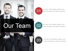 Our Team Ppt PowerPoint Presentation Infographic Template Skills
