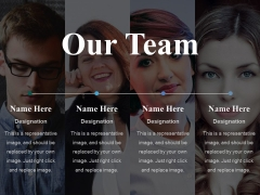 Our Team Ppt PowerPoint Presentation Infographics Example Topics