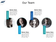 Our Team Ppt PowerPoint Presentation Infographics Sample