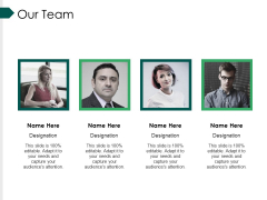 Our Team Ppt PowerPoint Presentation Infographics Topics