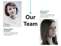 Our Team Ppt PowerPoint Presentation Infographics Visual Aids
