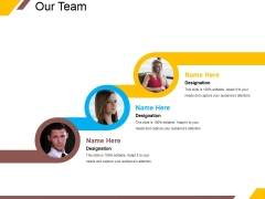 Our Team Ppt PowerPoint Presentation Layouts Influencers