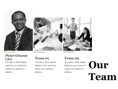 Our Team Ppt PowerPoint Presentation Layouts Information