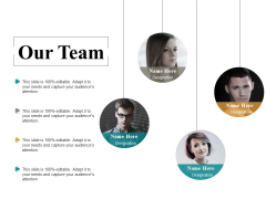 Our Team Ppt PowerPoint Presentation Model Files