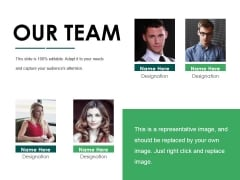 Our Team Ppt PowerPoint Presentation Model Templates