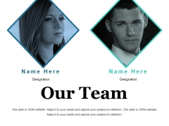 Our Team Ppt PowerPoint Presentation Outline Graphics Template