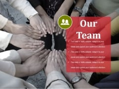 Our Team Ppt PowerPoint Presentation Outline Mockup
