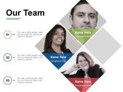 Our Team Ppt PowerPoint Presentation Pictures Format Ideas