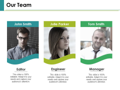 Our Team Ppt PowerPoint Presentation Pictures Graphics