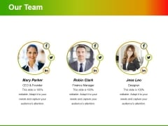 Our Team Ppt PowerPoint Presentation Portfolio Example File