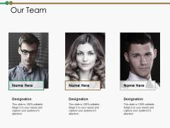 Our Team Ppt PowerPoint Presentation Portfolio Example