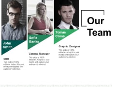 Our Team Ppt PowerPoint Presentation Portfolio Format
