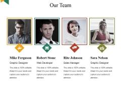 Our Team Ppt PowerPoint Presentation Portfolio Gridlines