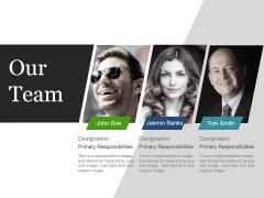 Our Team Ppt PowerPoint Presentation Portfolio Inspiration