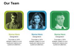 Our Team Ppt PowerPoint Presentation Portfolio Layout Ideas