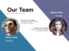 Our Team Ppt PowerPoint Presentation Portfolio Shapes