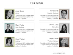 Our Team Ppt PowerPoint Presentation Portfolio