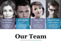 Our Team Ppt PowerPoint Presentation Portfolio Styles