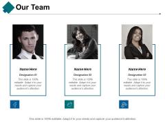 Our Team Ppt PowerPoint Presentation Portfolio Summary