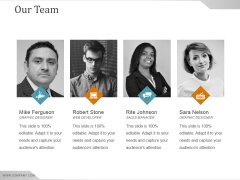 Our Team Ppt PowerPoint Presentation Professional Example File