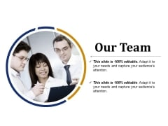 Our Team Ppt PowerPoint Presentation Professional Files