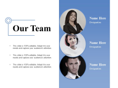 Our Team Ppt PowerPoint Presentation Show Diagrams