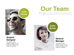Our Team Ppt PowerPoint Presentation Slides Inspiration