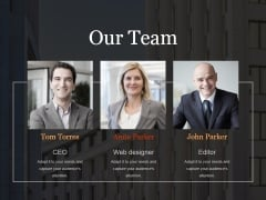 Our Team Ppt PowerPoint Presentation Styles File Formats
